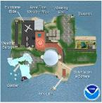 NOAA Second Life Island