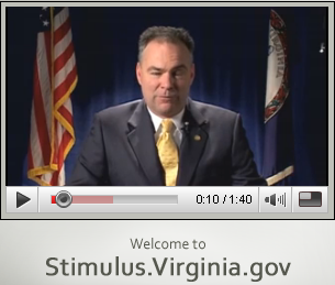 Virginia Governor Tim Kaine announces grants site additions.