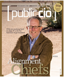 Delaware CIO Tom Jarrett, as featured on the cover of April 2008's Public CIO magazine.